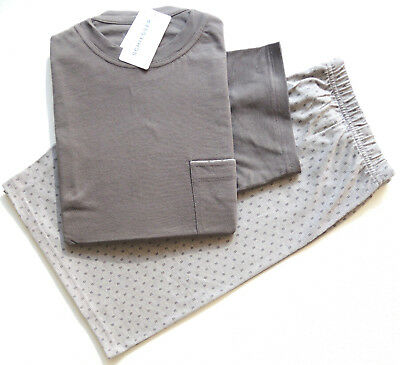 schiesser herren shorty schlafanzug pyjama taupe. Black Bedroom Furniture Sets. Home Design Ideas