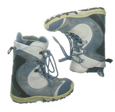 Used Burton Blue Ruler Snowboard Boots Men's Size 9.5 or Mondo 27.5