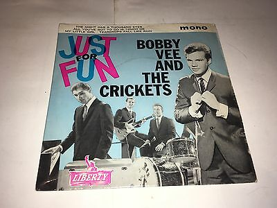 "Bobby Vee And The Crickets Just For Fun 7"" Ep"