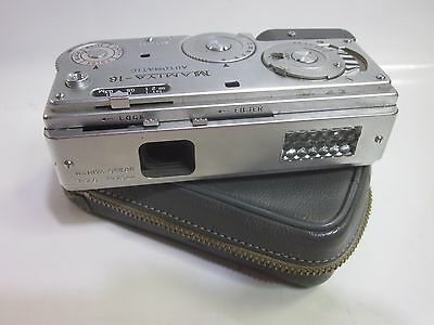 Mamiya 16 Automatic with Case. Made in Japan