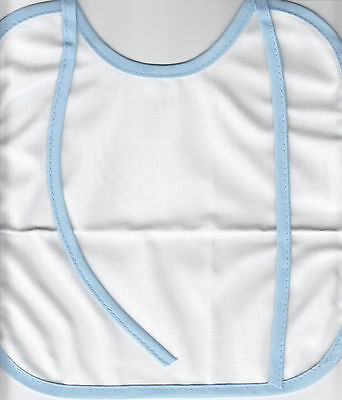 """Baby Bibs - Collection of 3 - 9.5 x 9.5"""""""