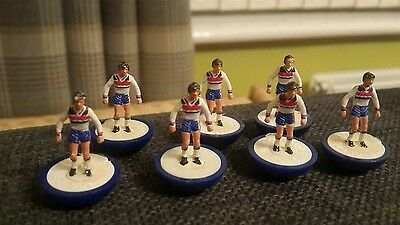 Subbuteo Football Lightweight Lw Ref 329 England Admiral Kit Unboxed 7 Players