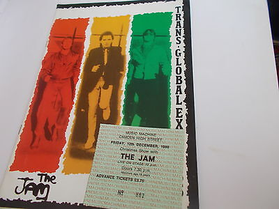 The Jam Trans.global Express Tour And Ticket