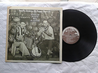 33 T Des Musiciens Snuffy Jenkins & Pappy Sherrill