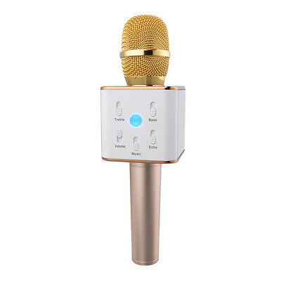 Portable Wireless Karaoke Handheld Microphone with Speaker for Smartphones TH440