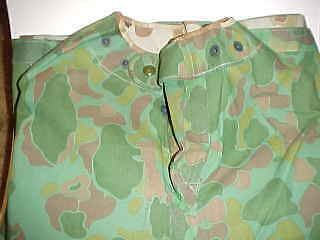 ORIGINAL & MINT CONDITION USN Reversible Camouflage Poncho Worn By Corpsmen