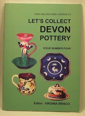 Let's Collect Devon Pottery Issue 4 by Virginia Brisco (New Copy)