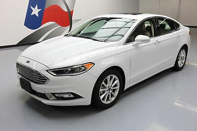 2017 Ford Fusion  2017 FORD FUSION SE ECOBOOST HTD LEATHER SUNROOF 15K MI #111669 Texas Direct