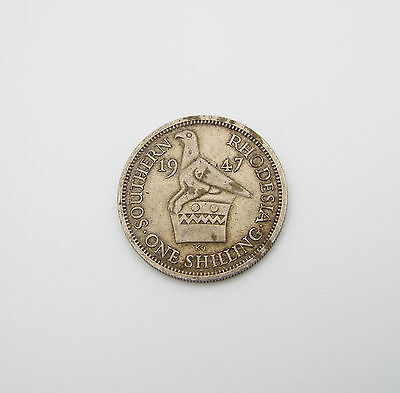 1947 Southern Rhodesia George Vi Shilling