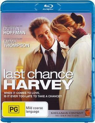 Last Chance Harvey - Dustin Hoffman Blu-ray Region B New! *