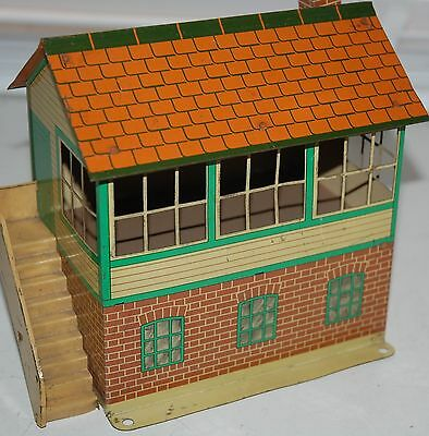 HORNBY SERIES O GAUGE No 2 SIGNAL BOX