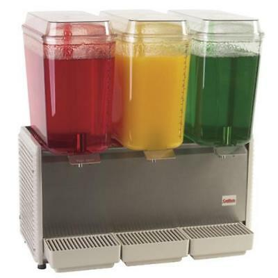 Crathco - D35-4 - 3 Bowl Refrigerated Beverage Dispenser