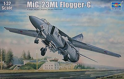 TRUMPETER® 03210 MiG-23ML Flogger-G in 1:32