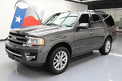 2016 Ford Expedition  2016 FORD EXPEDITION LIMITED ECOBOOST SUNROOOF NAV 29K #F22485 Texas Direct Auto