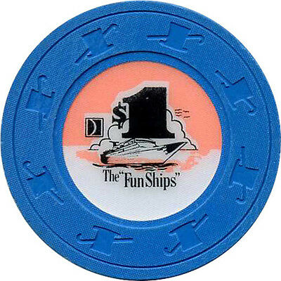 CARNIVAL CRUISE LINES $1 Casino Chip Cruise Line