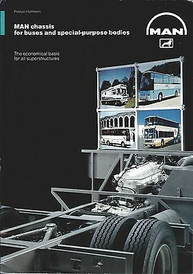 Bus Brochure - MAN - Chassis for Buses and Special Purpose Bodies (BU55)