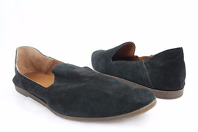 NEW Franco Sarto Freeze Black Suede Slip On Loafers Womens Size 10M