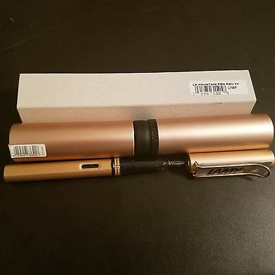 LAMY Lx Rau – Fountain Pen, Rose Gold - Extra Fine - L76EF