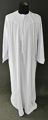 New With Tags Men's IKAF White Traditional Dress Size 44