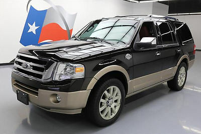2013 Ford Expedition  2013 FORD EXPEDITION KING RANCH SUNROOF NAV 20'S 68K MI #F00619 Texas Direct