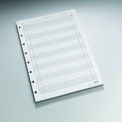 "Staples? Arc ""To-Do"" Notebook Filler Paper, Junior-sized, White, 50 Sheets"