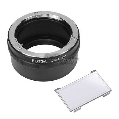 Olympus OM Lens to Sony E-Mount NEX A6300 A6000 A7 NEX7 NEX-3 NEX-5 Adapter Ring