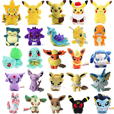 New Pokémon monstre Jeu Peluches jouet poupees Plush Soft Toy Doll Cadeau enfant