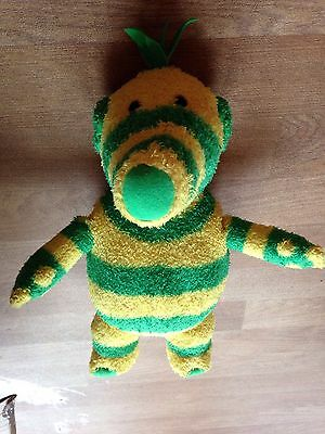 Fimbles Soft Toy Fimbo Yellow And Green 14inch Appox