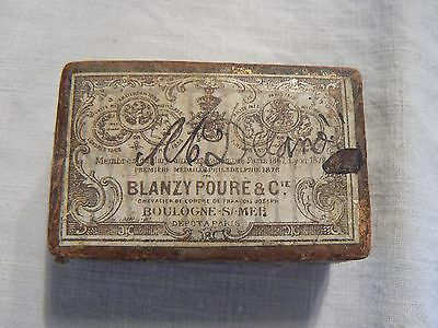 Blanzy Poure & Co Antique 1879 French Pen Nibs Original Box Some Nibs