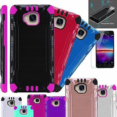 Huawei Ascend XT Phone Case Cover + TEMPERED GLASS SCREEN PROTECTOR Kombatguard