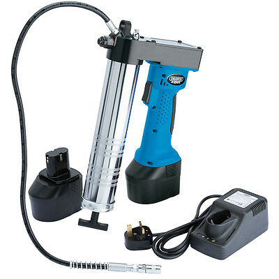 Draper Expert 18V Cordless Grease Gun with 2 Batteries and Charger 60992 CGG18