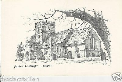 St. John the Baptist Church Chirton Kenneth A. Bromley nr Devizes Old Unposted