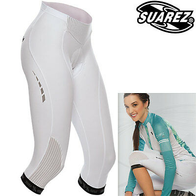 Suarez of Colombia Women's Elite 3/4 Cycling Tights - CLEARANCE was £59.99