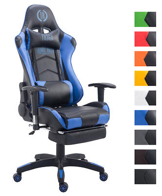 xl racing b rostuhl turbo stoff gaming drehstuhl 150 kg belastbar chefsessel eur 144 90. Black Bedroom Furniture Sets. Home Design Ideas
