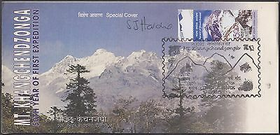 Nepal Mt. Khang Chend Zonga Expedition Celebration Signed Cover Limited Prepared