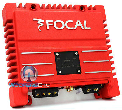 Open Box Focal Solid 2 Red Amp 2 Channel 400W Max Speakers Component Amplifier