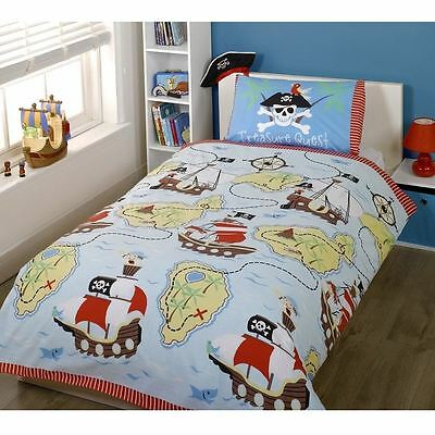 Treasure Quest Pirate Double Duvet Cover & Pillowcase Set