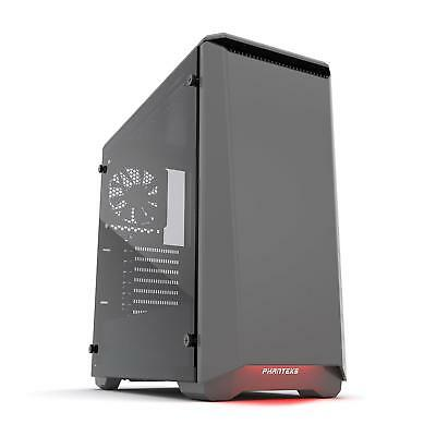 Phanteks Eclipse P400S Midi-Tower, Tempered Glass, anthrazit - gedämmt PC Case