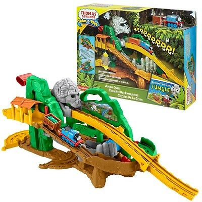 Thomas ei suoi Amici - Jungle Adventure Gioco Set Take-n-Play - Mattel Thomas an