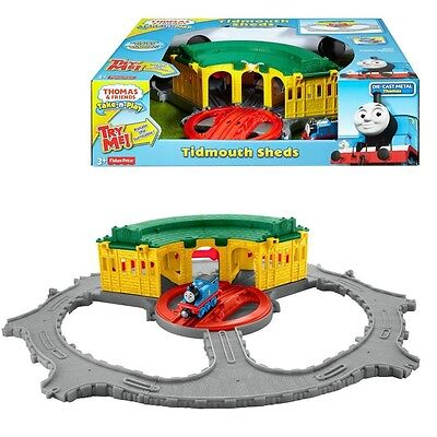 Thomas ei suoi Amici - Tidmouth Roundhouse Play Set Take-n-Play - Mattel Thomas
