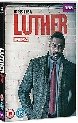Luther - Series 4 Dvd - New / Sealed Dvd - Uk Stock
