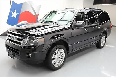 2013 Ford Expedition Limited Sport Utility 4-Door 2013 FORD EXPEDITION LIMITED EL 7-PASS SUNROOF NAV 30K #F69638 Texas Direct Auto