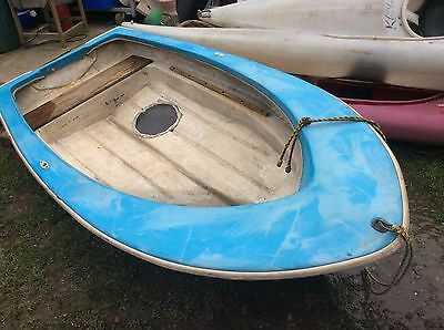 rowing boat dinghy Small