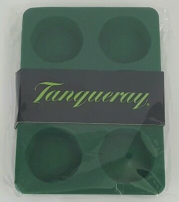 Two Tanqueray Red Seal Silicone Rubber Ice Cube Trays - New! Ice Molds