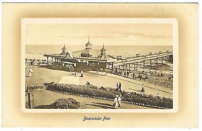 Early Postcard - Boscombe Pier Bournemouth Dorset - Ex Hampshire