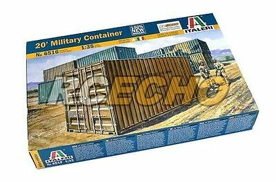 ITALERI Military Model 1/35 20 Military Container Scale Hobby 6516 T6516