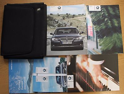 Bmw 3 Series Saloon/touring E90 E91 Handbook Owners 2005-2008 Pack 13855