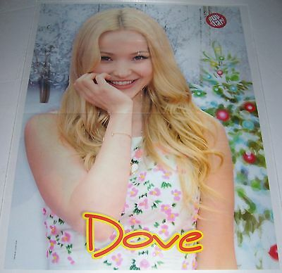 """DOVE CAMERON - ROSS LYNCH - NICE SMILE - 22"""" x 16"""" MAGAZINE POSTER"""