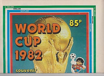 World Cup 1982 Souvenir From Revue 32 A3 Pages With Full Colour Match Chart