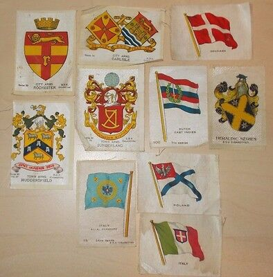 cigarette cards PHILLIPS/BDV  ASSORTED FLAGS AND TOWN ARMS